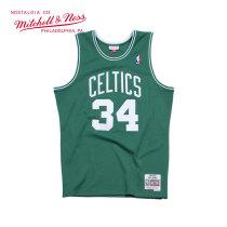 Mitchell & Ness系列 MN复古球衣-Swingman球迷版-凯尔特人队-保罗·皮尔斯#34 SMJYGS18144-BCEKYGN07PPI S号 小号 绿色 1件