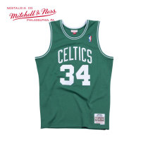 Mitchell & Ness系列 MN复古球衣-Swingman球迷版-凯尔特人队-保罗·皮尔斯#34 SMJYGS18144-BCEKYGN07PPI L号 大号 绿色 1件