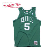 Mitchell & Ness系列 复古球衣-Swingman球迷版-凯尔特人队-凯文·加内特#5 BA86QN-BCE-E-EOV M号 中号 绿色 1件