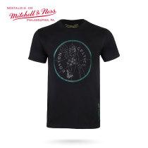 Mitchell & Ness系列 NBA系列印花T恤-凯尔特人 MN13S32-BOS XL号 加大号 黑色 1件