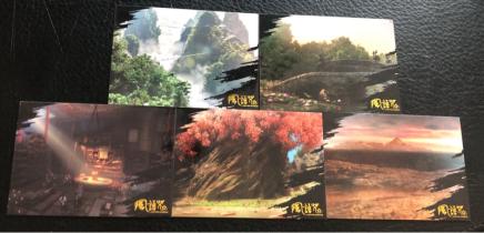 ^^撸卡厮^^ 大热国漫 风语咒 风景场景特卡 5张打包 支持我们自己的动画电影!(3)