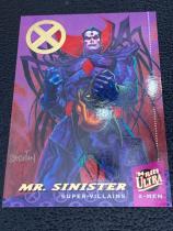 2018 X战警 1994年回购卡 邪恶先生 限量 45/50 一盒一张 稀有!漫威迷凑套收藏必备!Fleer ultra X-men Mr.Sinister