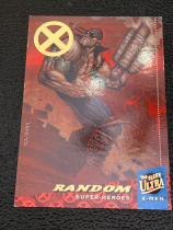 2018 X战警 1994年回购卡 Random 限量 01/50(首编1/1) 一盒一张 稀有!漫威迷凑套收藏必备!Fleer ultra X-men Random