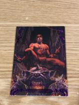 2018 漫威大师MP 编号80 夜魔侠 紫色平行 限量195/199 两年出一次的大师系列每一张卡都是经典中的经典 每张卡都限量发售 卡厚75pt 卡盒已绝版 市面上售价已达1500元 漫威迷收藏家必收!Marvel Masterpieces