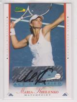 网球球星卡 库尔尼科娃 签字签名卡 ACE 2008