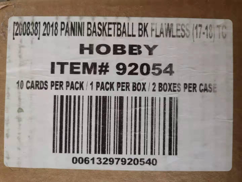 2017-18 panini FLAWLESS 1718手提箱原箱