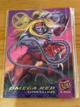 2018 fleer ultra X-Men X战警 94年回购卡 限量 38/50 月星 漫威迷必收!Omega Red