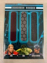 漫威 复仇者联盟2 美国队长 雷神 绿巨人 实物卡 UD