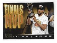 NBA球星卡 HOOPS系列 2019-2020 NBA 猛龙队 卡哇伊 伦纳德 总决赛MVP 值得收藏