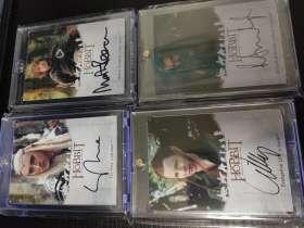 霍比特人 魔戒 指环王 签字 签名 卡 寒武纪出品 都是卡签 大全集 第三季 一共23张打包 贵卡包砖