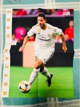 阿扎尔 皇马 切尔西 比利时 足球周刊巨型球星卡