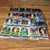 帕尼尼PRIZM 元年英超300张普卡套 利物浦 曼联 切尔西 阿森纳 热刺包含RC 新秀大热 奥多伊麦迪逊范迪克萨拉赫凯恩元年系列值得收藏