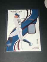 日本国宝 棒球黄牌 MLB 铃木一郎 球衣卡,ichiro Immaculate超厚限量。