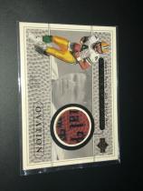 1999 Ovation NFL 橄榄球 绿湾包装工 传奇名人堂 Brett Favre 布雷特 法弗 比赛球皮卡,切到字。