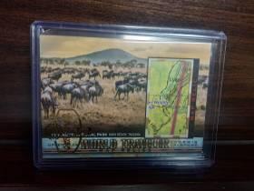 #咔桃丸佳# 古德温 2018 goodwin 地图 国家公园  大比例 卡品不错 稀有 请仔细阅读描述  此卡包含卡夹