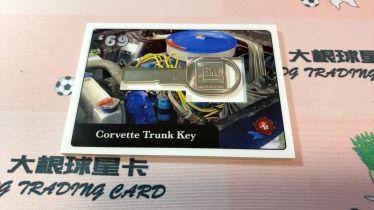 大根球星卡 1969美国名人盒子 雪佛兰 克尔维特 后备箱钥匙 实卡超美值得收藏 42-003