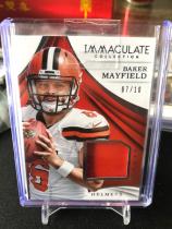 NFL 橄榄球 布朗 baker mayfield 新秀头盔卡,卡片超级厚,10编!