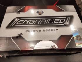 18-19 UD ENGRAINED hockey 冰球高端盒卡 原封未拆 能出很多高价卡的好盒子
