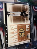 帮主 Michael jordan 迈克尔 乔丹 第一次退役时期,在芝加哥白袜 用过的比赛棒球 球棒实物(框有折痕如图3)