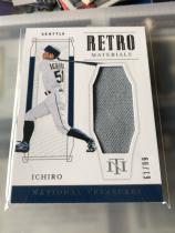 MLB 日本 铃木一郎 Ichiro 国家宝藏 西雅图水手球衣卡 99编。