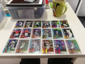2019 Topps 35周年纪念版折射,28张打包,acuna jr,春哥Springer,奥托维Altuve,克里斯布莱恩特Kris Bryant