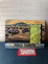 2018 goodwin 地图卡 坦桑尼亚 塞伦盖蒂国家公园 WT-127