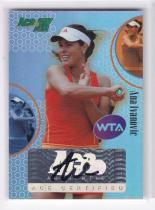 网球球星卡 阿娜 伊万诺维奇 签名签字卡 ACE ANA IVANOVIC 2011