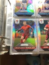 2016欧洲杯prizm银折base套1号-250号 C罗 葡萄牙 皇家马德里 皇马 曼联 尤文图斯 不包含卡册