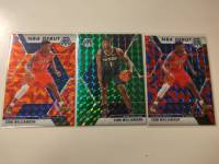 3张zion 锡安,马赛克。打包出售:3500。品相很好。橙色绿色红色。