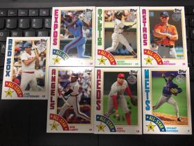 2019 Topps Series 1 mlb棒球 1984 Style特卡 打包7张