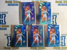 【HenryHouse卡店专卖】中体 新中超 标准版 5张超级外援特卡打包 上海申花 沙拉维 !!!!!mem