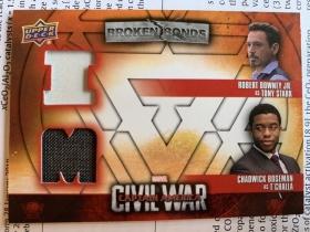 漫威 美国队长3 钢铁侠 黑豹 复仇者联盟  实物卡 UD