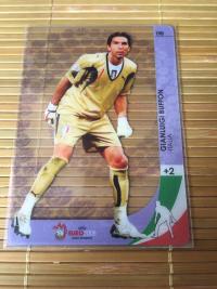 帕尼尼2008欧洲杯布冯胶片卡
