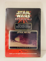 1999 topps 星战 星球大战 前传 幽灵的威胁 24帧 3D 电影卡 一秒电影画面 未拆封 独立编号 topps每盒附赠一张 超级稀少 值得珍藏