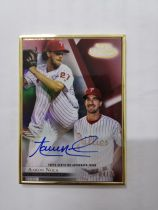 2018 Topps Gold Label   费城人队 AARON NOLA  ,PHILADELPHIA PHILLIES 卡签 04/25