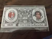 AC米兰 稀有欧元钞票卡 皮尔洛 值得收藏的好东西 品相如图