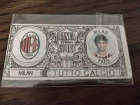 AC米兰 稀有欧元钞票卡 帕托 值得收藏的好东西 品相如图