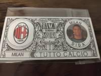 AC米兰 稀有欧元钞票卡 迪达 值得收藏的好东西 品相如图