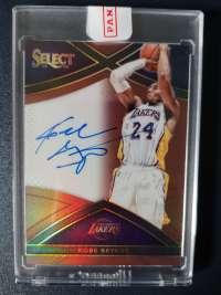 2015-16 Panini Select 湖人 科比 布莱恩特 Kobe Bryant 49编 原封 签字