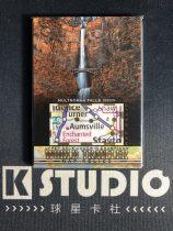 【K-studio代拍】2018 GOODWIN 古德温系列 世界旅行者 实物 地图切割 马尔特诺马瀑布 俄勒冈  KSD0004