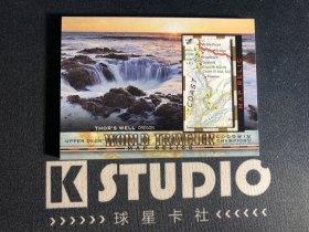 【K-studio代拍】2019 GOODWIN 古德温系列 世界旅行者 实物 地图切割 俄勒冈 托尔之井  KSD0004
