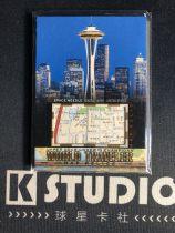 【K-studio代拍】2018 GOODWIN 古德温系列 世界旅行者 实物 地图切割 西雅图夜未眠 KSD0004