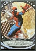 2020漫威大师MP 油画画布卡 蜘蛛侠 彼得帕克 一盒1-2张 超美!质感超棒!漫威迷绝对不能错过!MP156