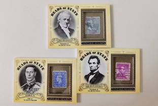 弗兰克大叔代卖教授 古德温历史名人邮票实物特卡lots【请仔细阅读描述】