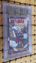 【Enjoy The Card】 2015 UD 蚁人 Ant-Man & WASP作者(Seeley)画师(Olazaba) 双签 金标评级9.5 签字10