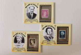 弗兰克大叔代卖教授 古德温历史名人邮票实物特卡lots凑套必备【请仔细阅读描述】