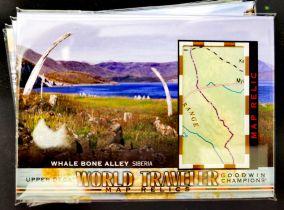 古德温 Goodwin 世界地图 世界旅行卡 西伯利亚 鲸骨海岸