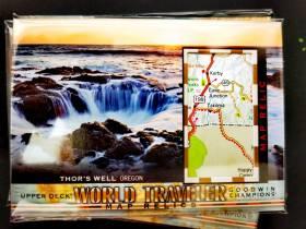 古德温 Goodwin 世界地图 世界旅行卡 俄勒冈 索尔之井 雷神