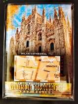 古德温 Goodwin 世界地图 世界旅行卡 米兰大教堂 意大利 著名景点