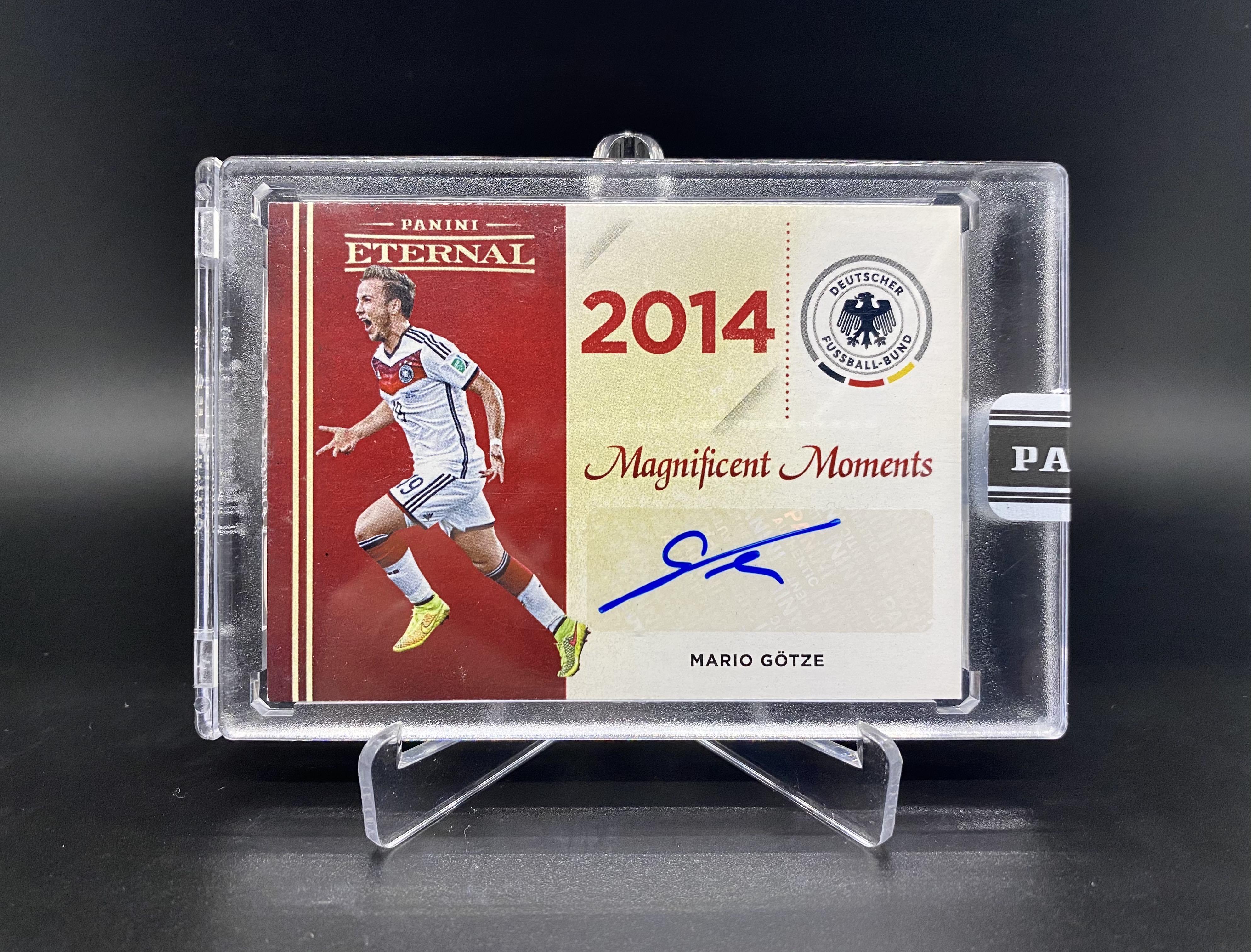 18-19 Panini Eternal 马里奥 格策 辉煌时刻 原封砖 签字 25编 世界杯绝杀梅西带领的阿根廷
